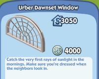 Urber Dawnset Window
