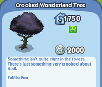 Crooked Wonderland Tree