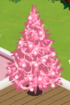 Pink Decorated Tree 3