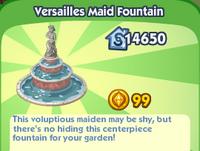 Versailles Maid Fountain