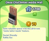 Okea CityClimber Media Wall