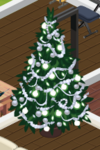 Silver Decorated Tree 4