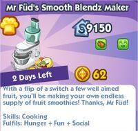 Mr Fud Smooth Blendz Maker