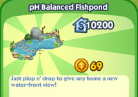 PH Balanced Fishpond