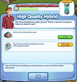 High Quality Hybid Questline