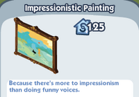 Impressionistic painting