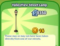 ValleyView Street Lamp
