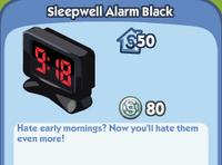 Sleepwell Alarm Black