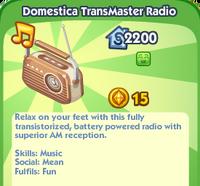 Domestica TransMaster Radio