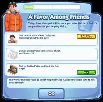 A Favor Among Friends