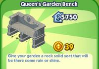 Queen's Garden Bench