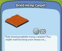 DriedHempCarpet