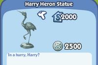 Harry Heron Statue