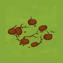 Yard Christmas Pinecones