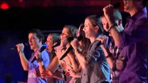"""1st Performance - Fannin Family - """"Who Says"""" by Selena Gomez - Sing Off - Series 3"""