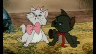 The Kittens from the Aristocats!