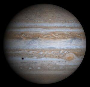 622px-Jupiter by Cassini-Huygens