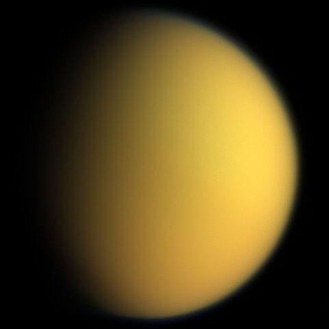 File:Titan in natural color Cassini.jpg