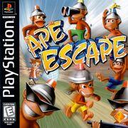 Ape Escape North American Cover