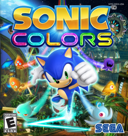 Sonic Colors box artwork
