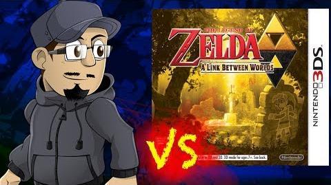 Johnny vs. The Legend of Zelda A Link Between Worlds