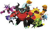 Deadly six sonic lost world