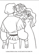 Swan Princess official coloring page 43