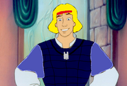 Prince Derek as Questar from Dino-Riders