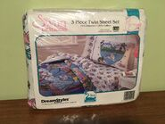 RARE 1994 The Swan Princess 3 Piece Twin Sheet Set SEALED PACKAGE 1