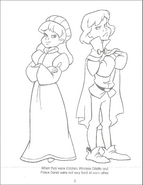 Swan Princess Funtime Activity Book page 3