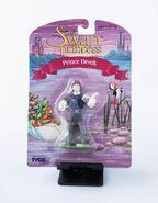 Vintage Swan Princess Figurine Toy Derek