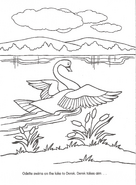 Swan Princess official coloring page 33