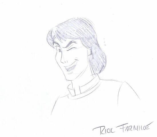 File:Swan Princess RICK FARMILOE Convention SIGNED Sketch DEREK Pencil COA -A1800.jpg