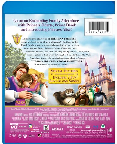 File:The Swan Princess a royal family tale dvd cover 2.jpg