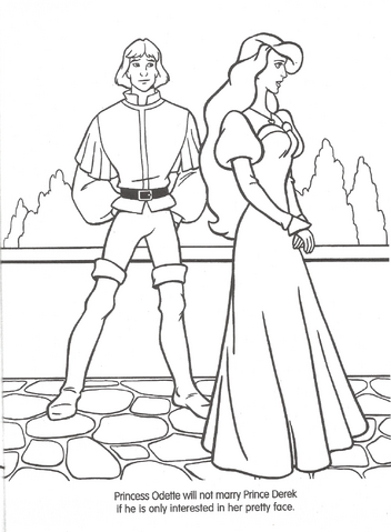 File:Swan Princess official coloring page 8.png