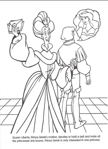 File:Swan Princess official coloring page 18.png