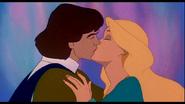 Odette and Derek first kiss