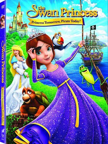 File:The Swan Princess 6th movie DVD cover.jpg
