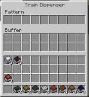 Train Dispenser GUI