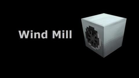 Wind Mill - Industrial-Craft In Minutes