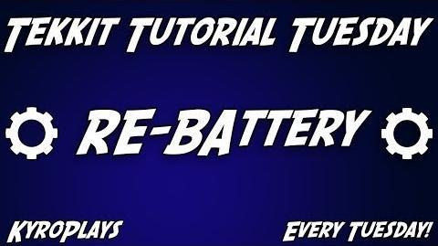 RE-Battery Tutorial Tekkit