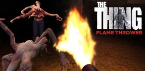 Thing flame thrower