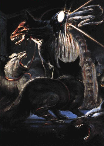 File:Dale Kuipers, The Kennel-Thing attacks concept art - The Thing (1982).jpg