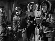 In the basement hallway - The Thing (1951)