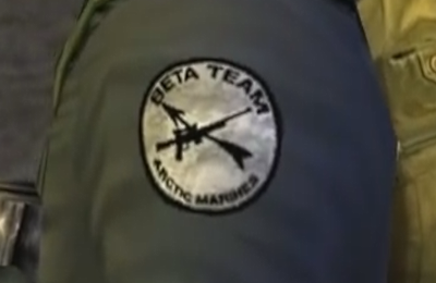 File:Beta Team, Arctic Marines insignia - The Thing (2002).png