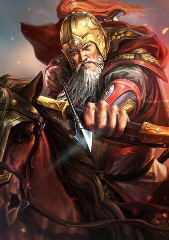 File:Huang Zhong (battle old) - RTKXIII.jpg
