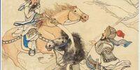 Guan Yu slays Hua Xiong