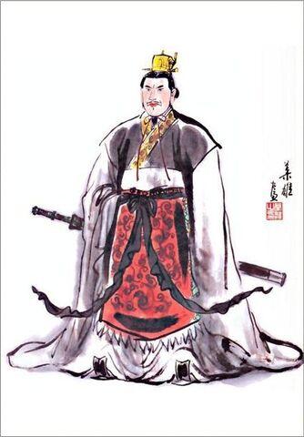 File:Liu Bei - Ye Xiong Art.jpg