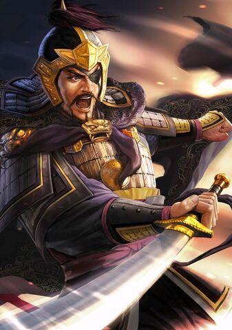 File:Xiahou Dun (battle eyepatch high rank young) - RTKXIII.jpg