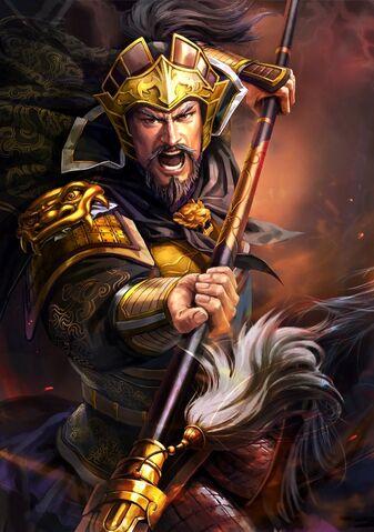 File:Zhang Liao (battle high rank old) - RTKXIII.jpg